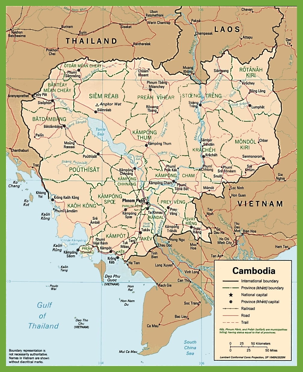 Cambodia road map cambodia road map gumiabroncs Images