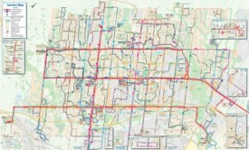 Brampton transport map