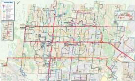 Brampton transport map