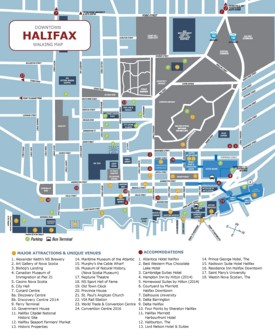 Halifax Maps Canada Maps of Halifax