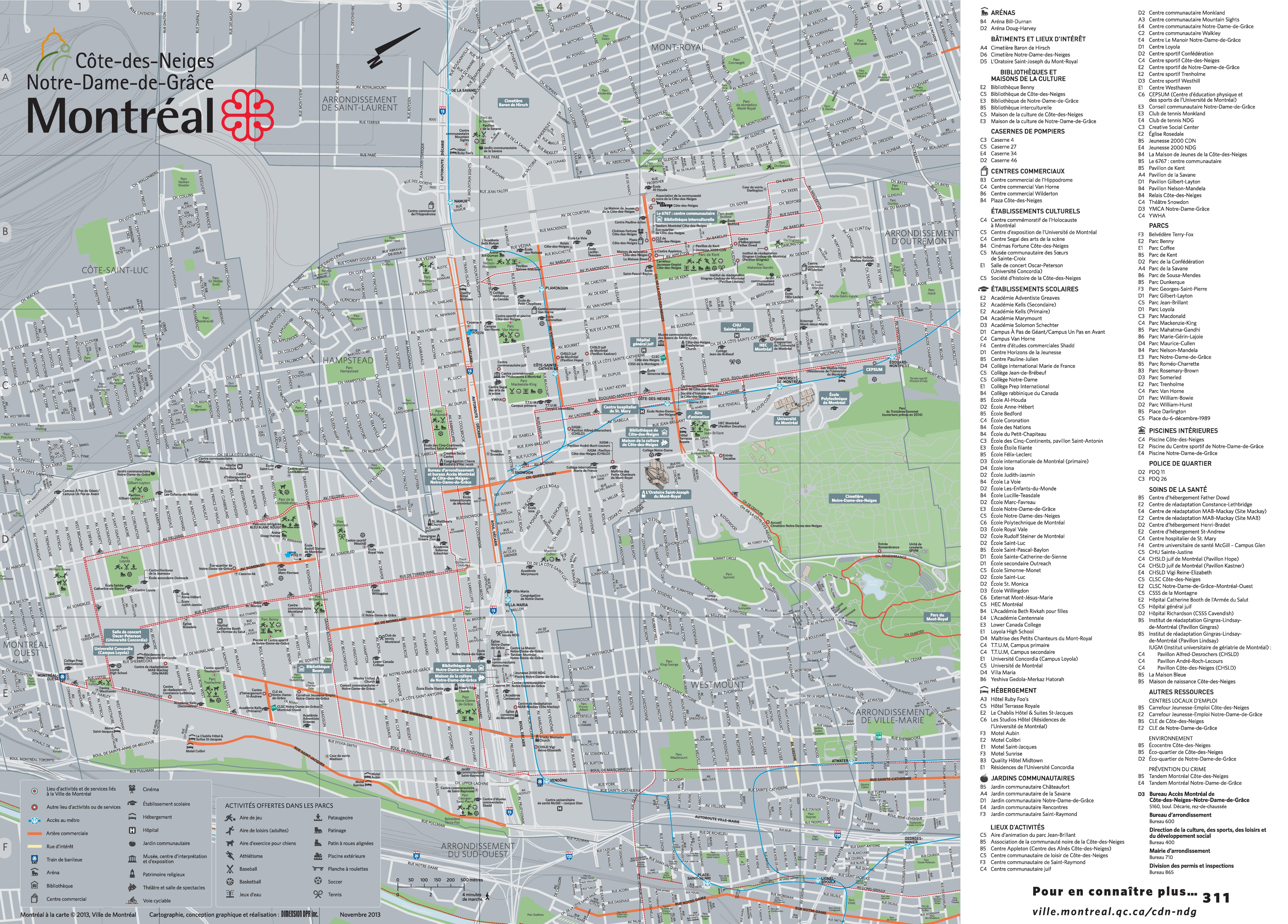 CtedesNeigesNotreDamedeGrce map