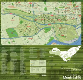 Montreal Le Sud-Ouest map