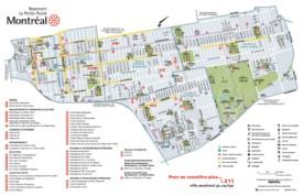 Rosemont–La Petite-Patrie map