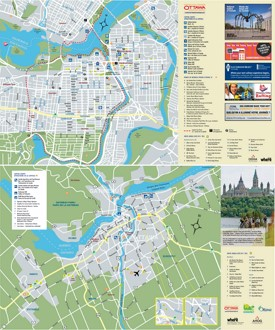 Ottawa tourist attractions map