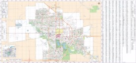 Regina street map
