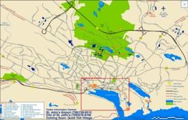 St. John's sightseeing map