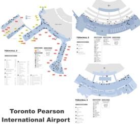 Toronto airport terminal 3 map