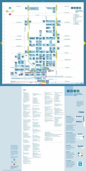 Toronto PATH map