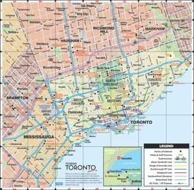 Toronto road map