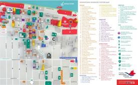 Windsor tourist map