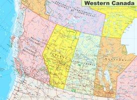 Map of Western Canada