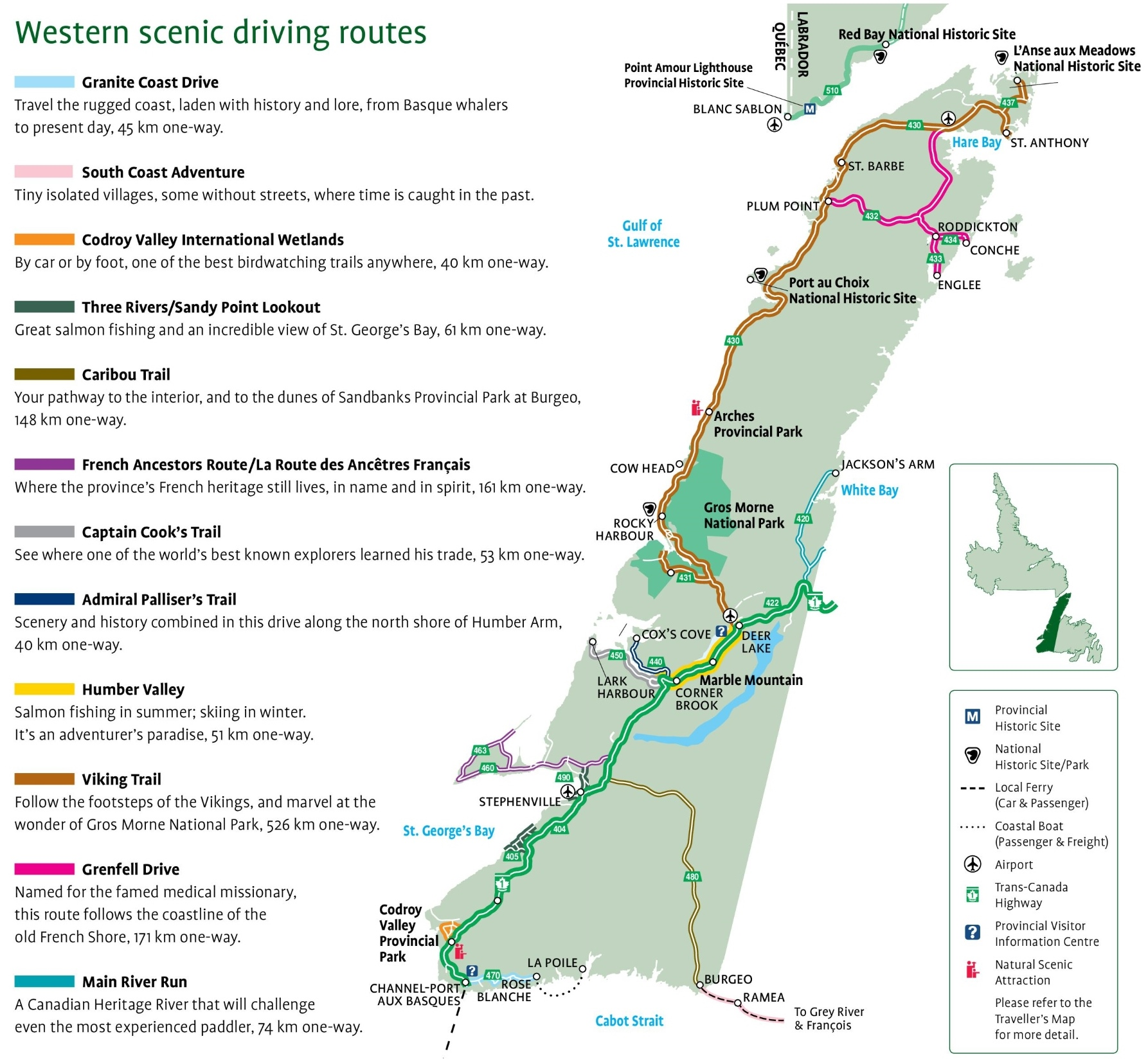Western Newfoundland scenic driving routes map on get directions, follow directions, cardinal directions, calgary things to do, calgary maps and directions, calgary restaurants, a list on the map directions, calgary weather, calgary c-train schedule, calgary hotels,