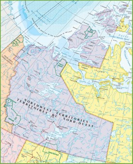 Northwest Territories Maps Canada Maps of Northwest Territories