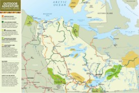 Northwest Territories travel map