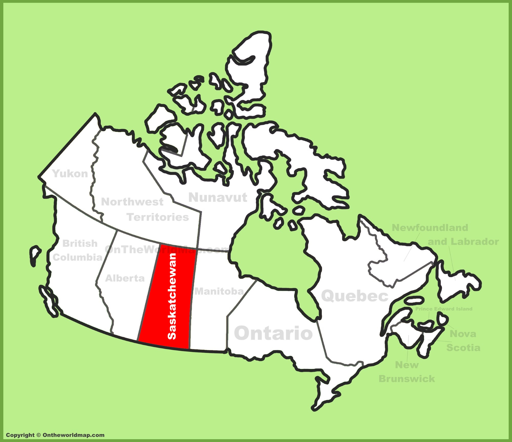 Map Of Saskatchewan Canada Gallery Diagram Writing
