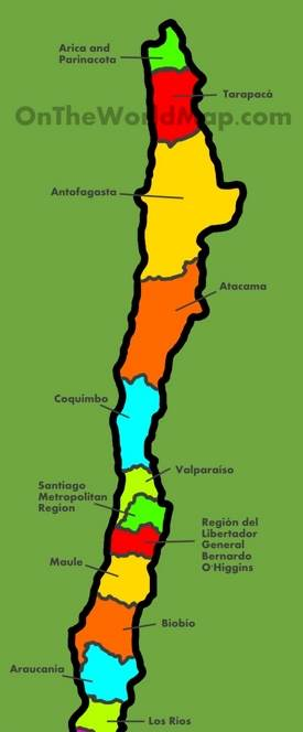 Maps Of Chile Chile Maps | Maps of Chile