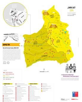 Arica y Parinacota Tourist Attractions Map