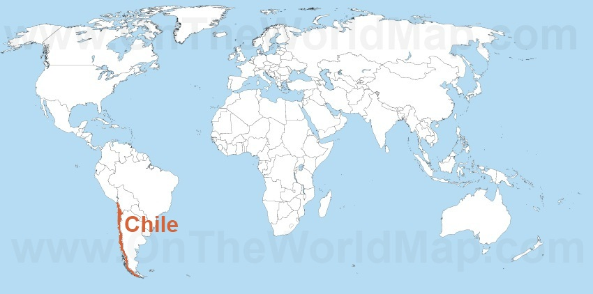 Where Is Chile On The World Map