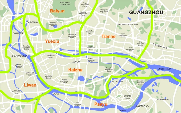 Where to stay in Guangzhou