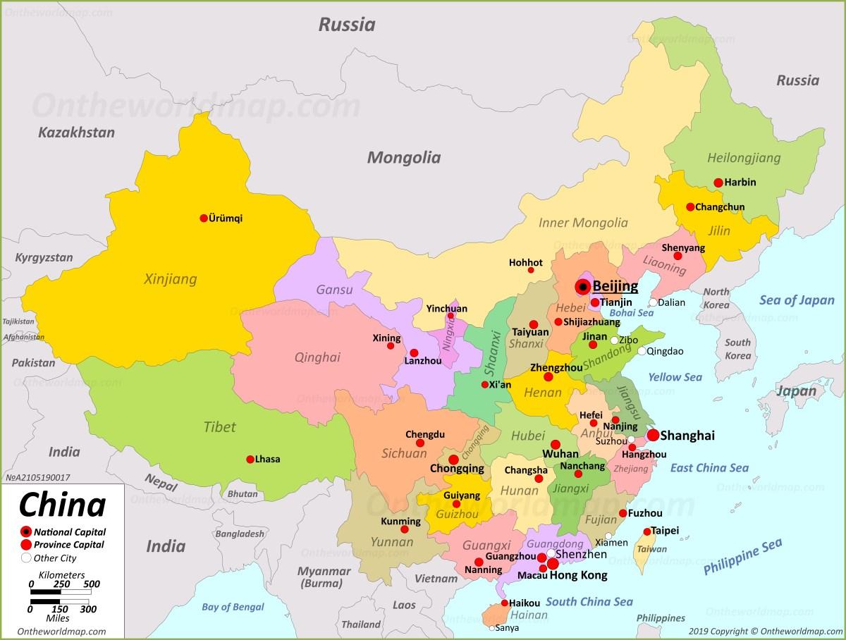 China Maps | Maps of China on