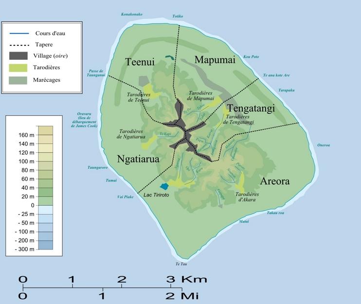 Atiu map