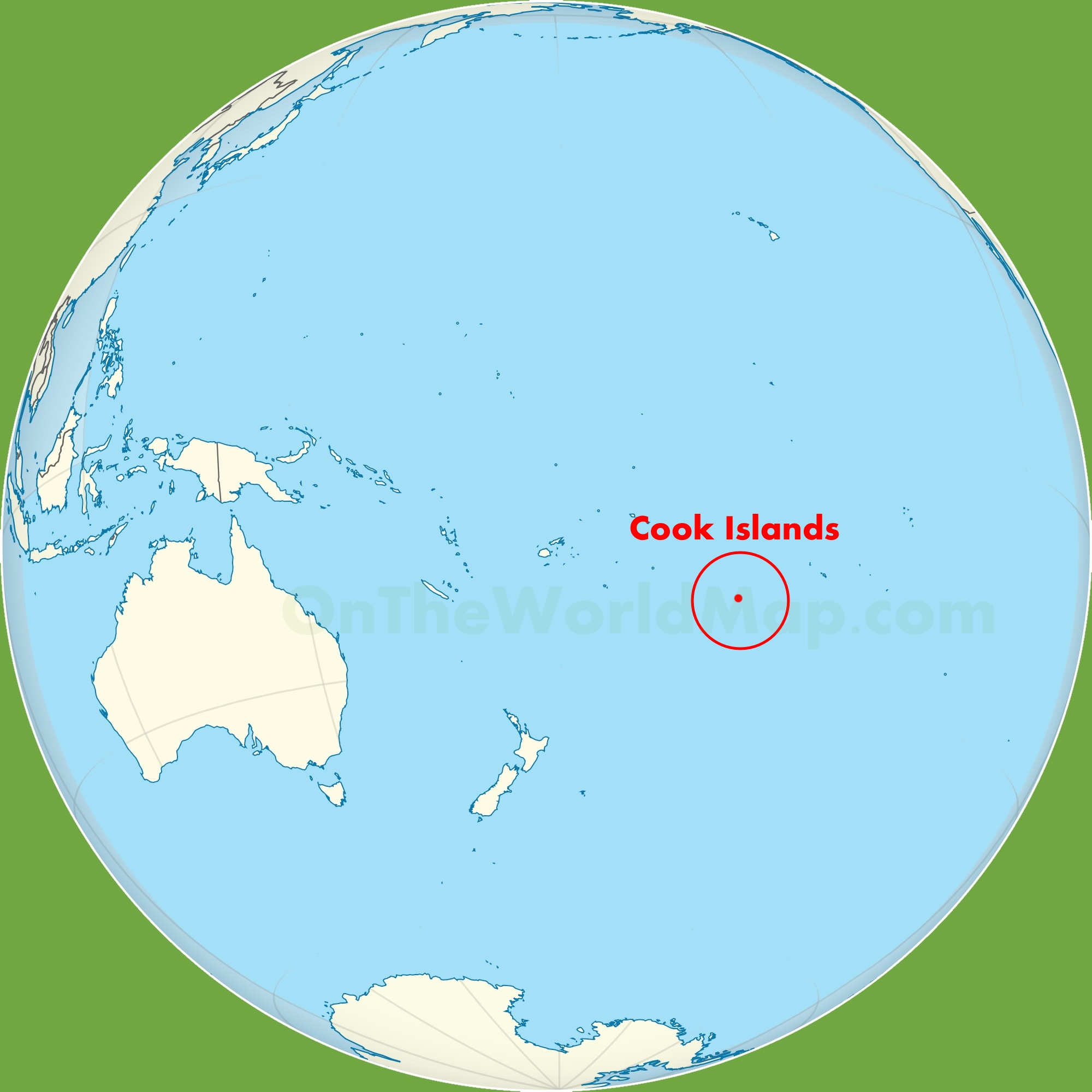 Cook Islands On World Map.Cook Islands Maps Maps Of Cook Islands