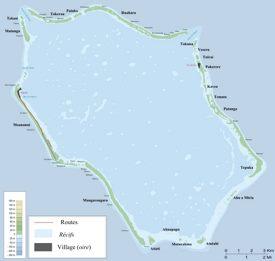Penrhyn map