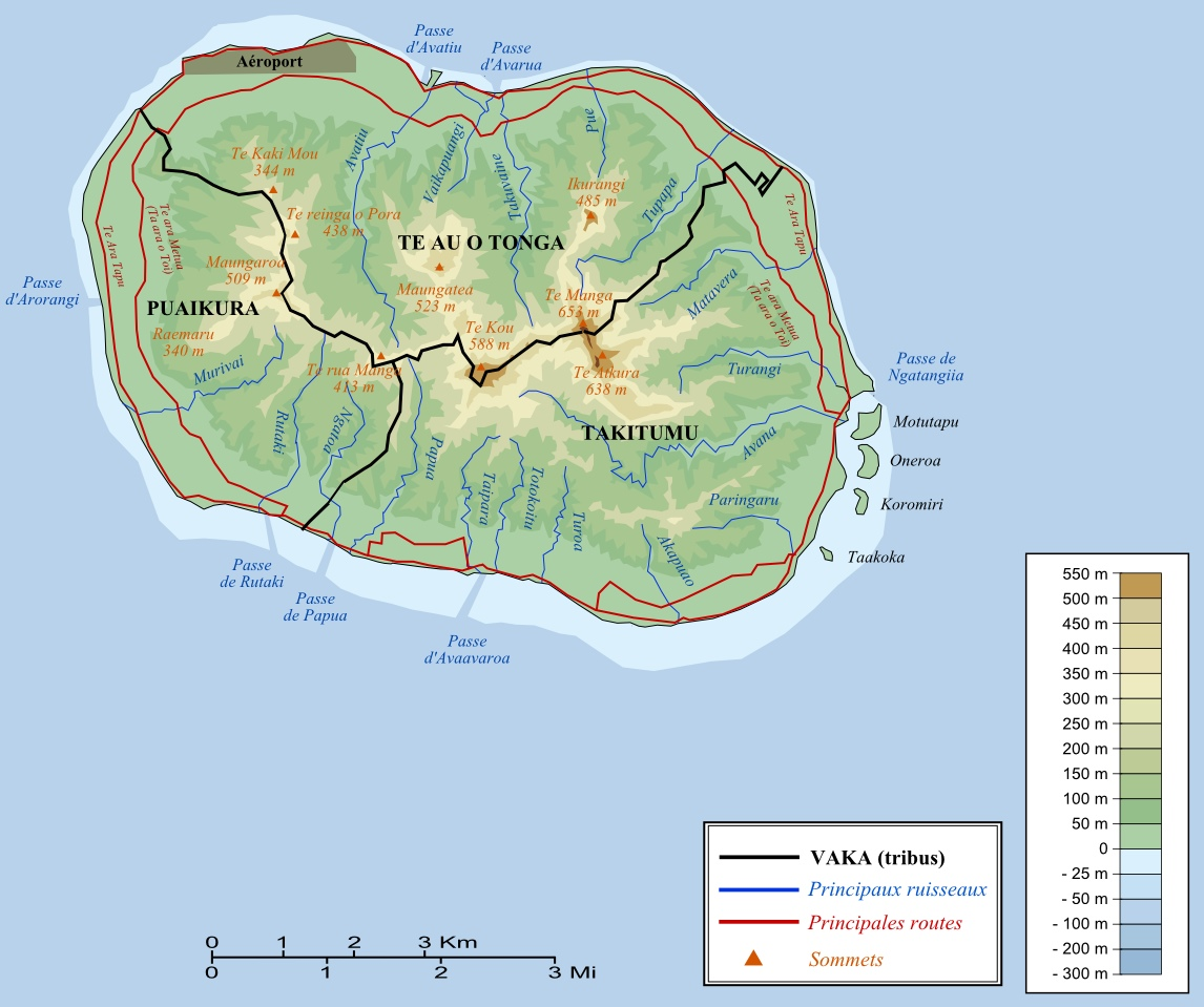 Cook Islands Maps Maps of Cook Islands