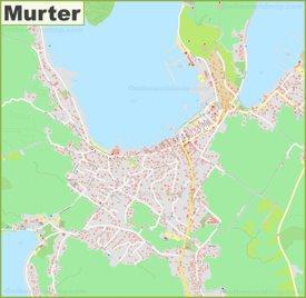 Large detailed map of Murter