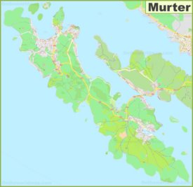 Murter Island Map