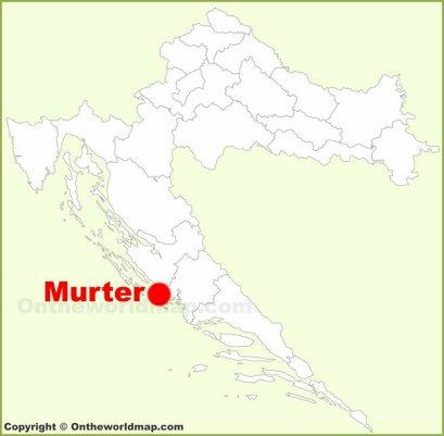 Murter Location Map