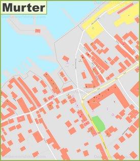 Murter town center map