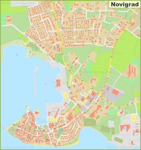 Large detailed map of Novigrad