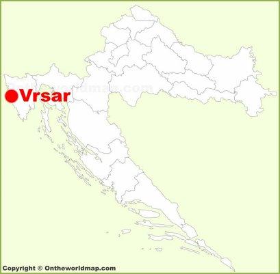 Vrsar Location Map