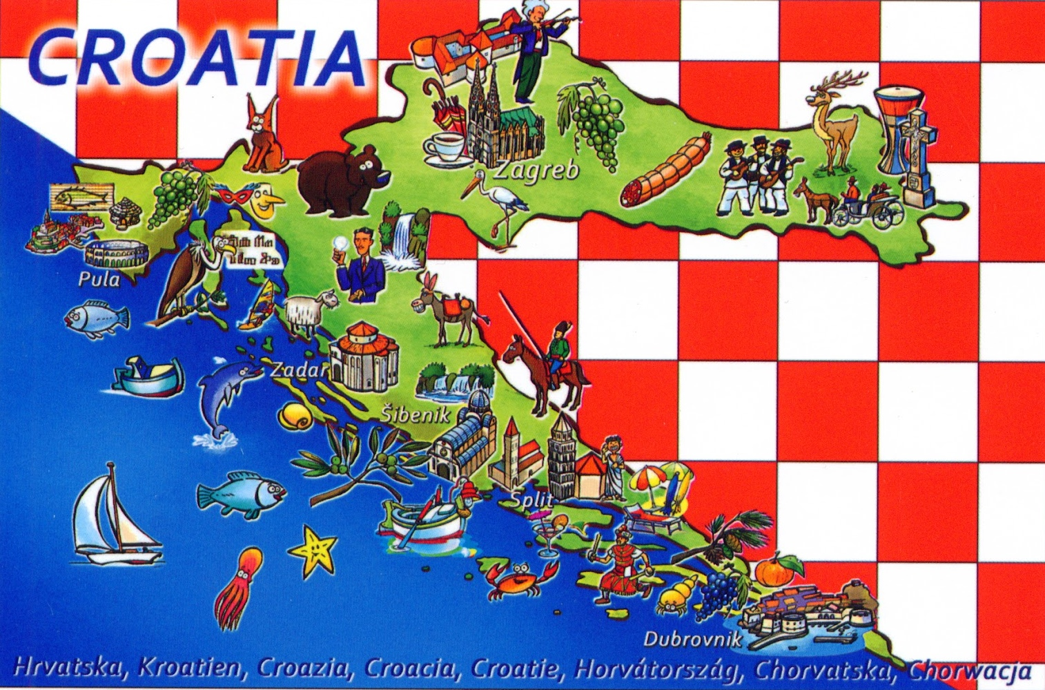 Croatia Maps Maps Of Croatia - Croatia physical map
