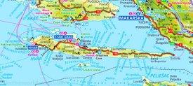 Hvar tourist map