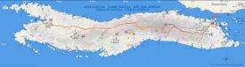 Detailed tourist map of Korčula