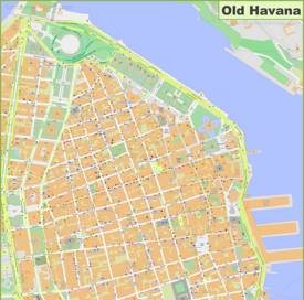 Old Havana Map