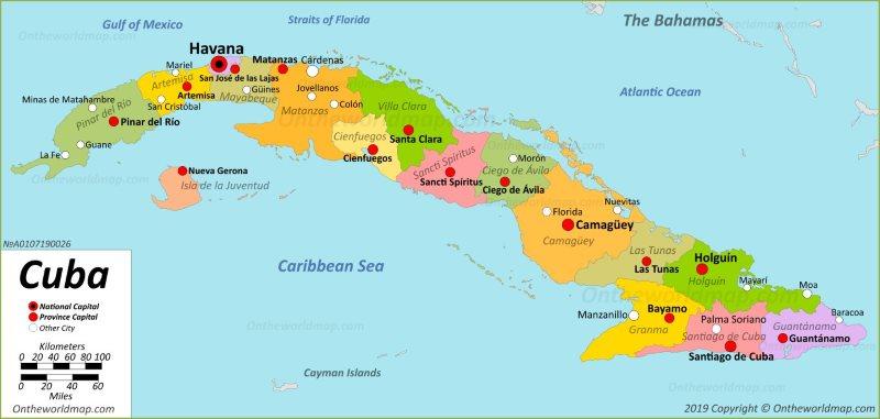 Cuba Maps | Maps of Cuba