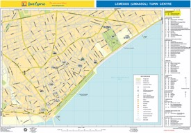 Limassol hotel map