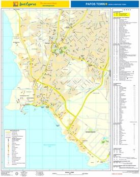 Paphos hotel map