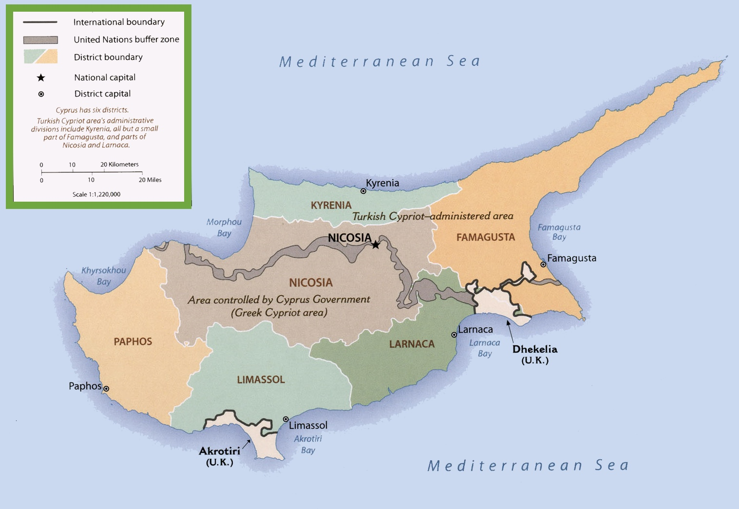 proposed cyprus boundaries map