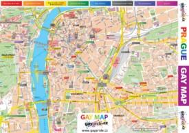 Prague gay map