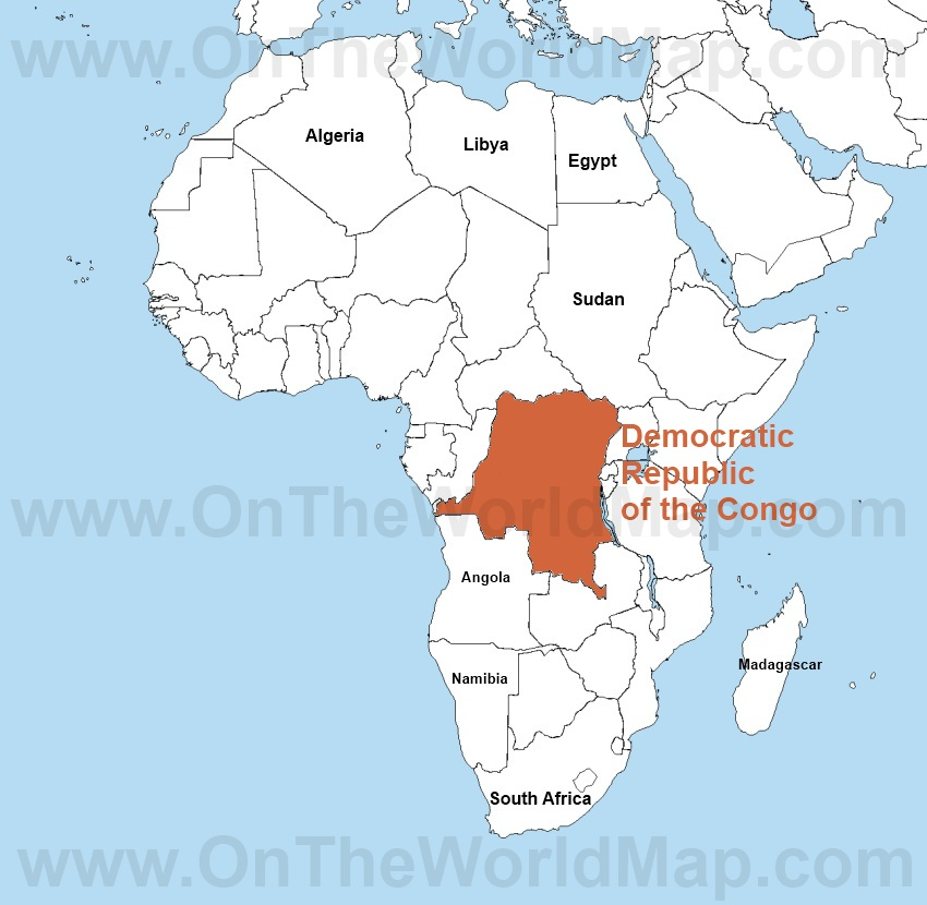 Africa map democratic republic of the congo a tease democratic republic of congo africa kinshasa video gumiabroncs Gallery