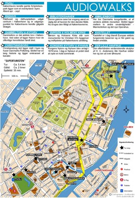 Copenhagen city center map