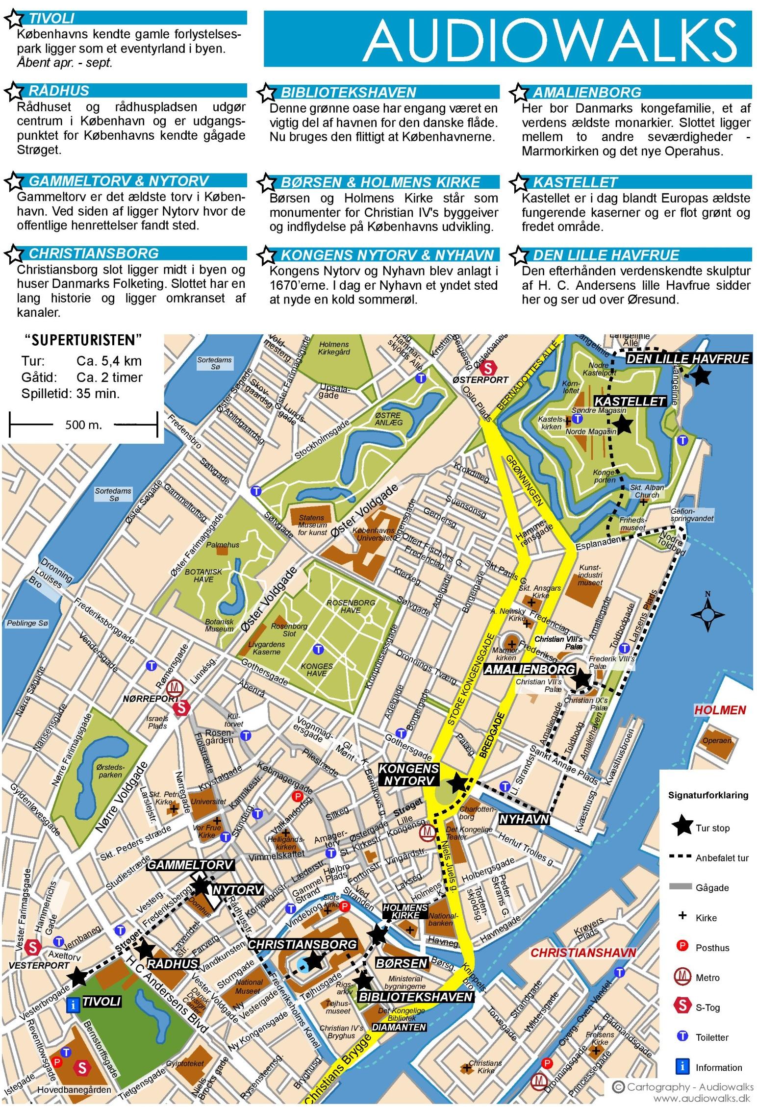 Copenhagen Maps Denmark Maps of Copenhagen