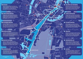 Copenhagen waterbus map