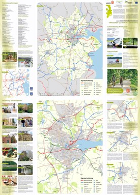 Kolding tourist bike map