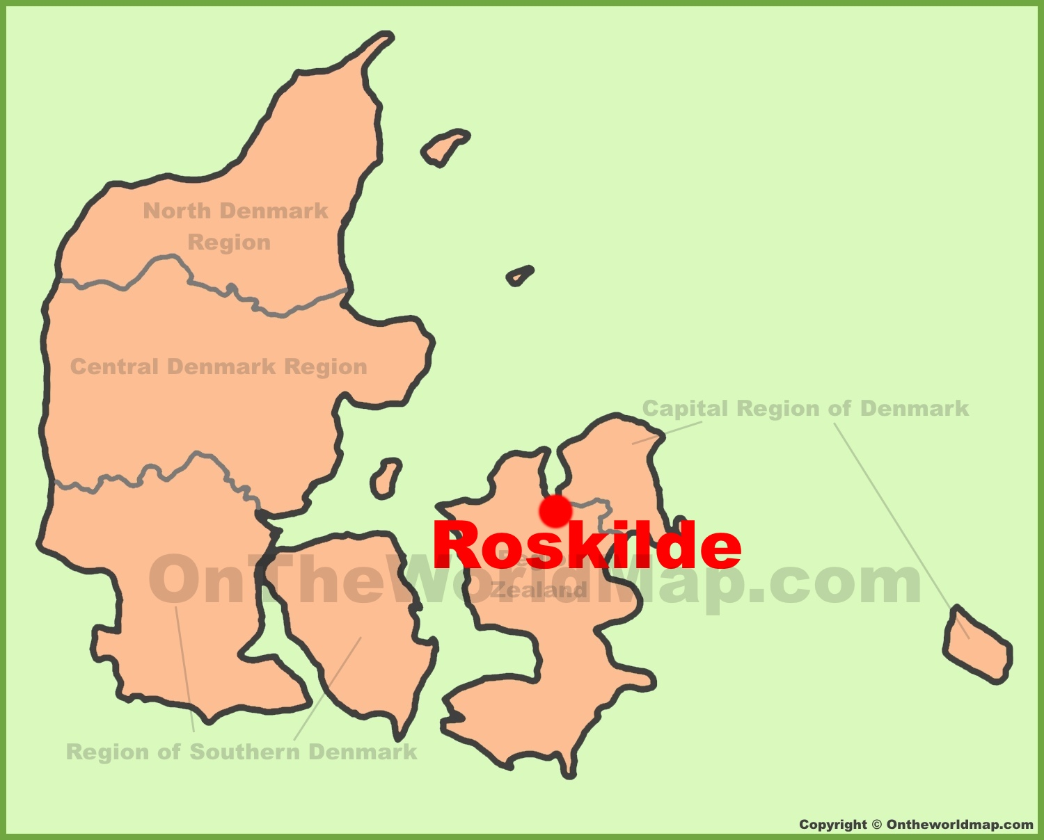 Roskilde location on the denmark map roskilde location on the denmark map gumiabroncs Gallery