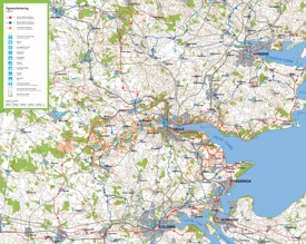 Vejle bike map